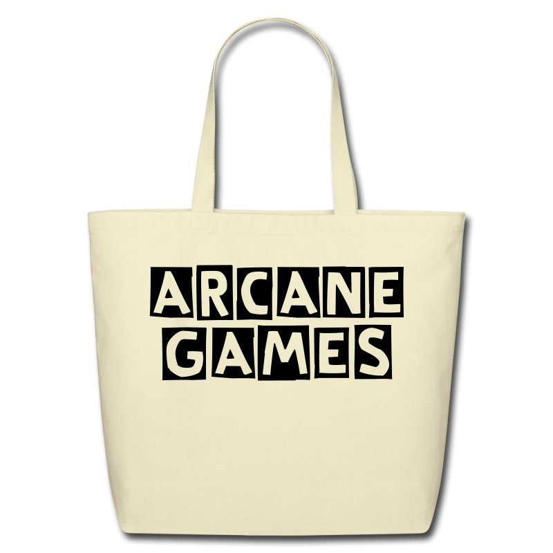 Arcane Games Tote Bag - Eco-Friendly Cotton Tote