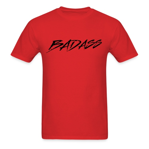 BADASS (Black Logo) - Men's T-Shirt