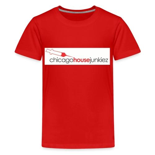 Chicago house junkiez Red - Kids' Premium T-Shirt