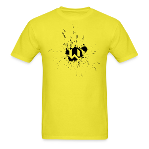 WANTED Splat Short-T - Men's T-Shirt