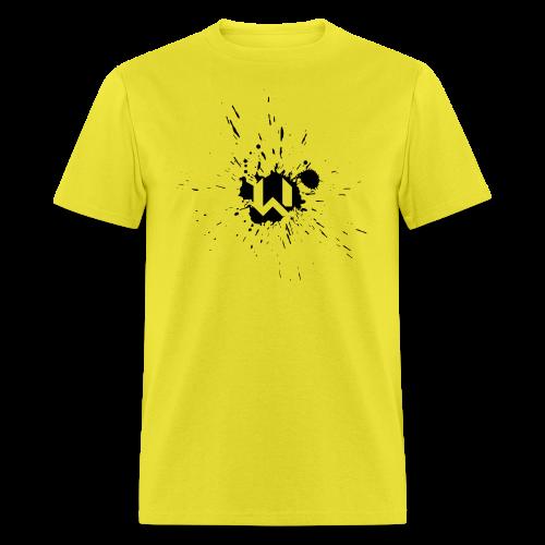 WANTED Splat Short-T - Men's T-Shirt