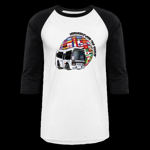 World Tour 3/4 Sleeve - Baseball T-Shirt