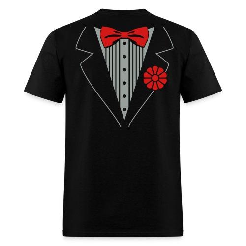 Real Men Wear Bow Ties - Men's T-Shirt