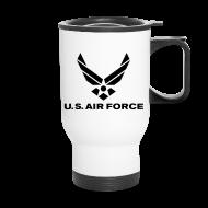 Mugs & Drinkware ~ Travel Mug ~ USAF Coffee Mug