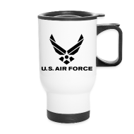 Mugs & Drinkware ~ Travel Mug ~ USAF Coffee Mug