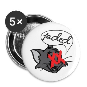 That Chill Cat. Buttons 5-Pack - Large Buttons