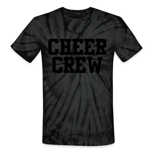 Cheer Crew - Unisex Tie Dye T-Shirt