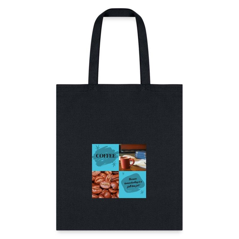 Coffee Homeschool 1 - Tote Bag