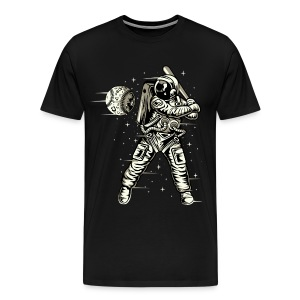 Space Baseball Astronaut - Men's Premium T-Shirt