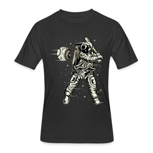 Space Baseball Astronaut - Men's 50/50 T-Shirt