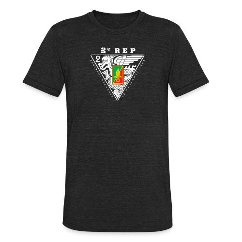 2e REP Badge - Foreign Legion - AA Tri Blend T-shirt - Unisex Tri-Blend T-Shirt