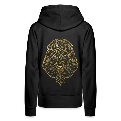 GoldLionHoody - Women's Premium Hoodie