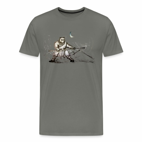 Iron Bear Monk - Men's Premium T-Shirt
