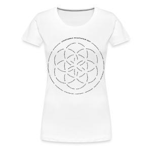 LightSong Practicum 2017 Lotus Women's T-Shirt - Women's Premium T-Shirt