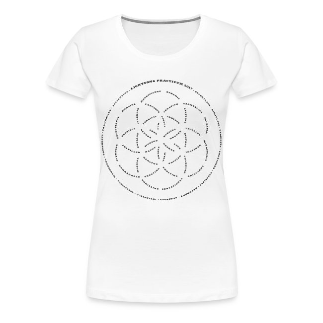 LightSong Practicum 2017 Lotus Women's T-Shirt