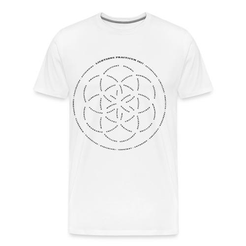 LightSong Practicum 2017 Lotus Men's T-Shirt - Men's Premium T-Shirt