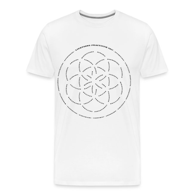 LightSong Practicum 2017 Lotus Men's T-Shirt