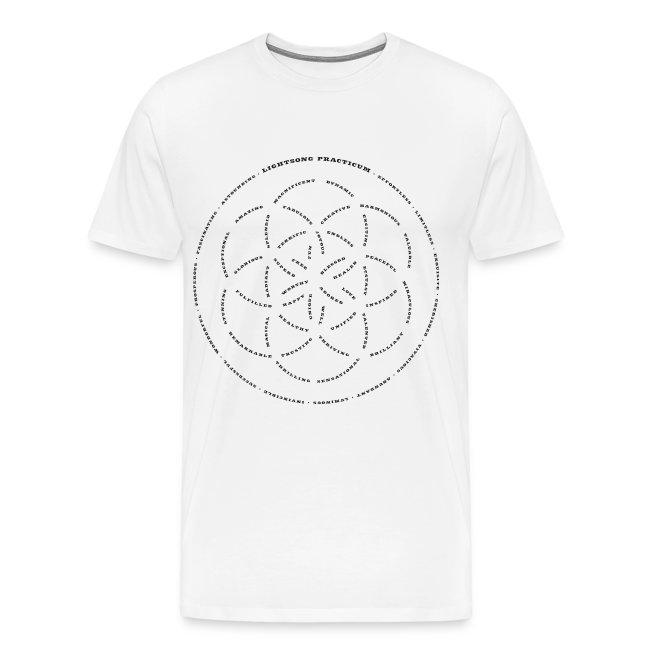 LightSong Lotus Men's T-Shirt