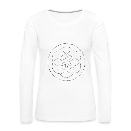 LightSong Lotus Women's Long Sleeve - Women's Premium Long Sleeve T-Shirt