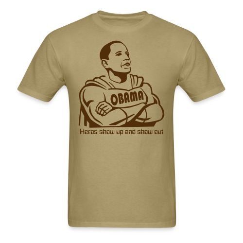 Obama hero - Men's T-Shirt
