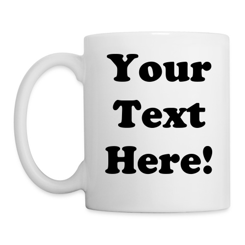Personalized Mug - Left - Coffee/Tea Mug