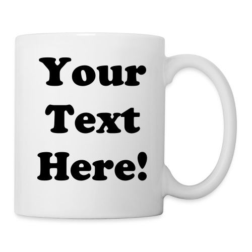 Personalized Mug - Right - Coffee/Tea Mug