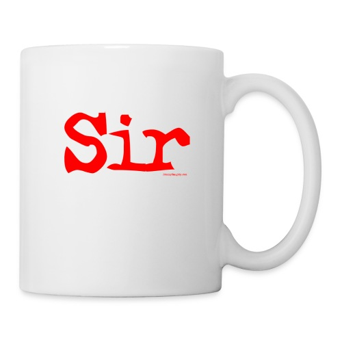 sir - Coffee/Tea Mug
