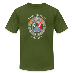 1er REC Badge - Foreign Legion - American Apparel T-Shirt - Men's T-Shirt by American Apparel