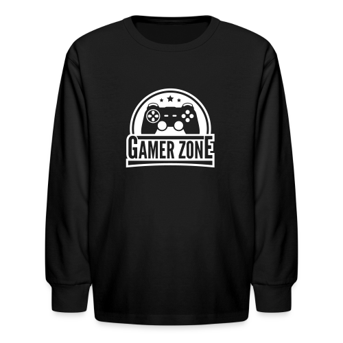 Kid's Gamer Zone Long Sleeve - Kids' Long Sleeve T-Shirt