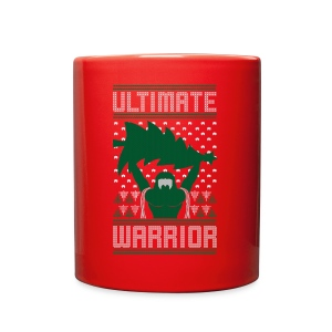 Ultimate Warrior Official Christmas Mug - Full Color Mug