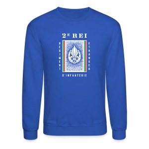 2e REI Badge - Foreign Legion - Sweatshirt - Crewneck Sweatshirt