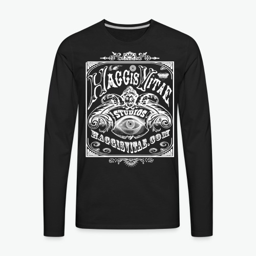 HV Philly Folk Fest Mens Long Sleeved Tee - Men's Premium Long Sleeve T-Shirt