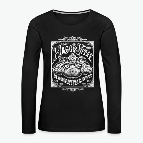HV Philly Folk Fest Ladies Long Sleeve Tee - Women's Premium Long Sleeve T-Shirt