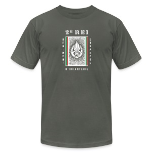 2e REI Badge - Foreign Legion - American Apparel T-Shirt - Men's Fine Jersey T-Shirt