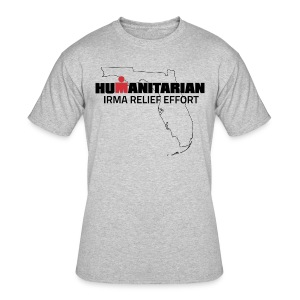 Men's Irma Relief Effort T-Shirt - Men's 50/50 T-Shirt