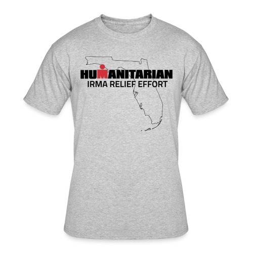 Men's Irma Relief Effort T-Shirt - Men's 50/50 T-Shirt