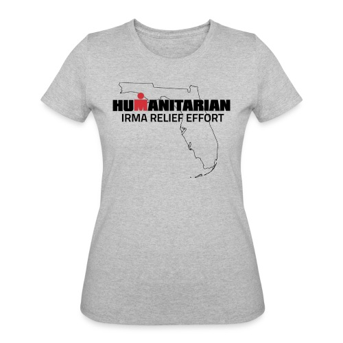 Women's Irma Relief Effort T-Shirt - Women's 50/50 T-Shirt