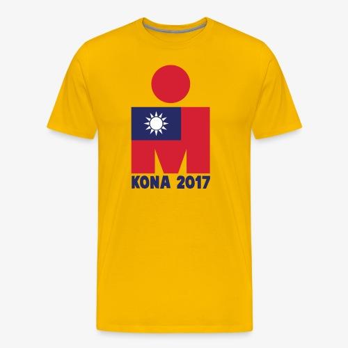 KONA 2017 - TAIWAN - MEN'S PERFORMANCE SHIRT - Men's Premium T-Shirt