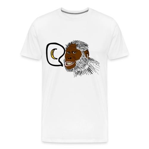 Music loving monkey - Men's Premium T-Shirt