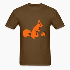 Squirrel and Nut T-Shirts