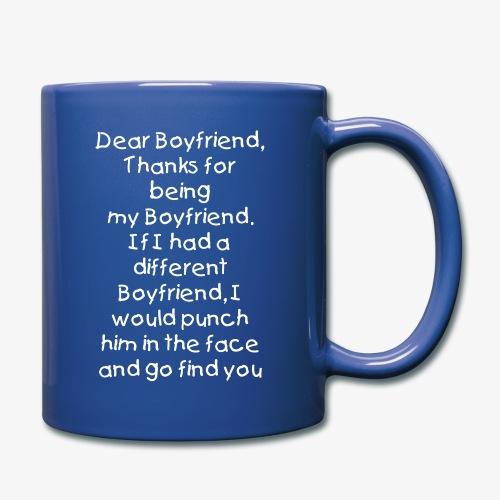 Dear Boyfriend Premium Mug - Full Color Mug