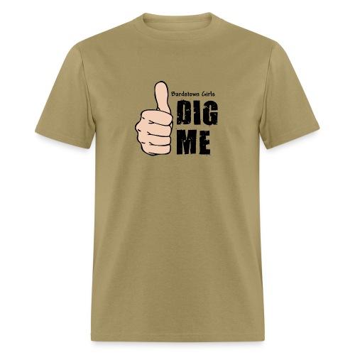 Bardstown Girls Dig Me - Khaki - Men's T-Shirt