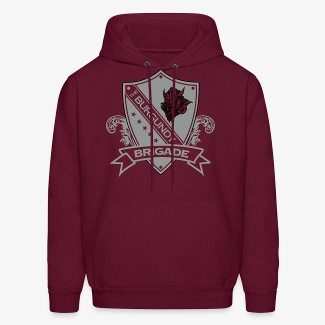 Burgundy Brigade Logo - Hoodie