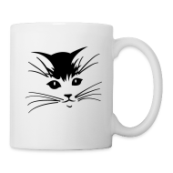 Mugs & Drinkware ~ Coffee/Tea Mug ~ Debbie: Thinking About Cats