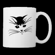 Mugs & Drinkware ~ Coffee/Tea Mug ~ Debbie: Thinking About Cats