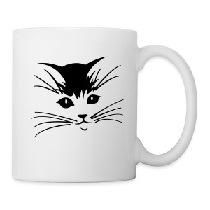 Debbie: Thinking About Cats - Coffee/Tea Mug