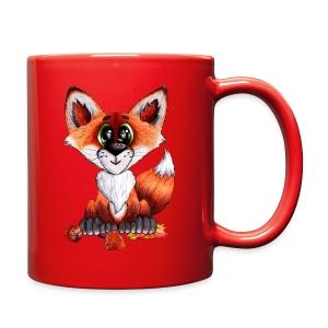 llwynogyn - a little red fox - Full Color Mug