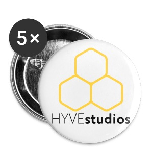 HYVE 2.25 Button (5 Pack) - Large Buttons