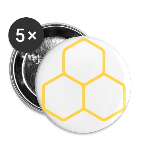 HYVE 1 Button (5 Pack) - Small Buttons