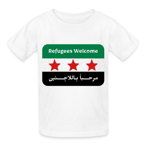 Refugees Welcome Kids' T-shirt - Kids' T-Shirt